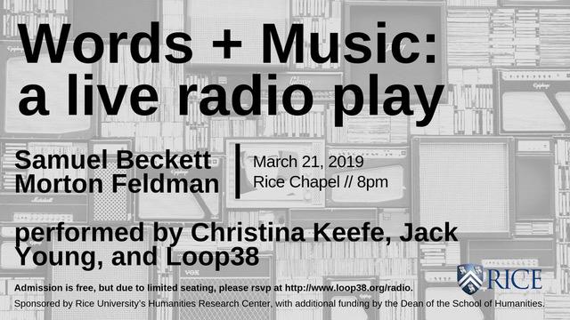 Words + Music_ a live radio play